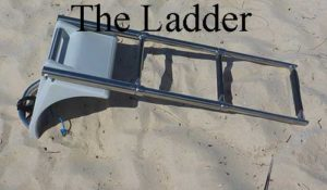 Dicks dinghy ladder used for inflatable dinghies